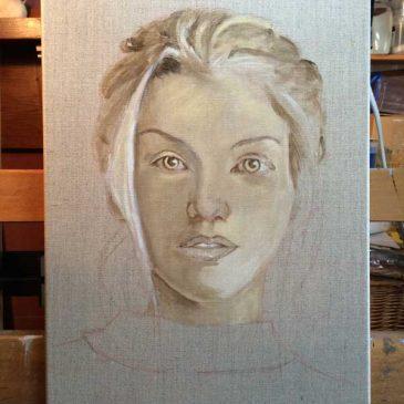 Face on Linen (1)